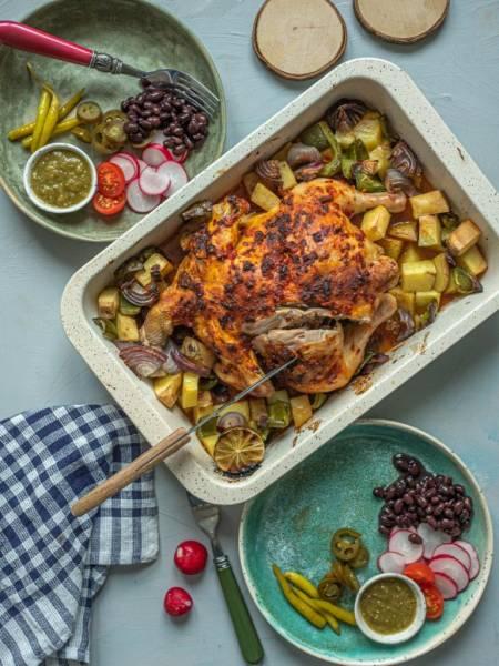 Kurczak pieczony po meksykańsku