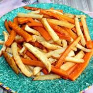 Frytki z selera i innych warzyw
