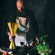 Sernik prawie Fit z orzechami Pecan Faceta w Kuchni