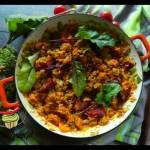 Ryż z dynią i suszonymi pomidorami