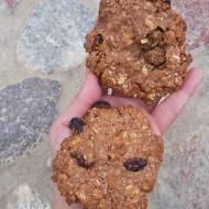 Ciasteczka orzechowo-kakaowe z owsianką