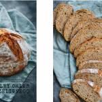 Rustykalny chleb z gara żeliwnego