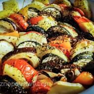 Zapiekanka warzywna z bakłażananem