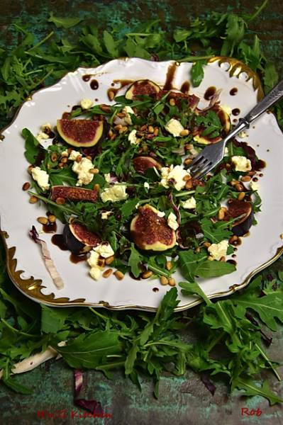 Figowa sałatka