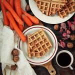 Gofry marchewkowe – łatwe i tanie