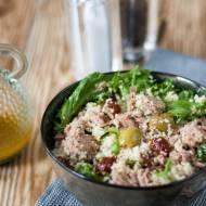 Sałatka z tuńczykiem i kuskusem w stylu włoskim