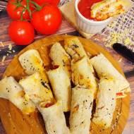 Zapiekane rollsy z chleba tostowego