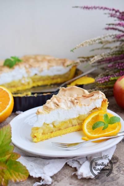 Tarta jabłkowo-pomarańczowa