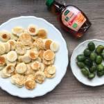 Maleńkie naleśniczki pancakes cereal z mini kiwi