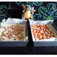 Serowa zapiekanka z pomidorkami