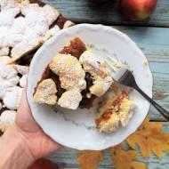 Szarlotka jaglana (bezglutenowa) / Millet Flour Apple Shortcake
