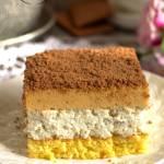 Ciasto serowo-kajmakowe