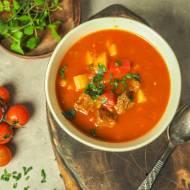 Zupa gulasz węgierski
