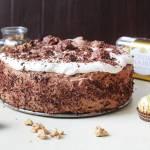 Ciasto Ferrero Rocher – tort czekoladowo-orzechowy