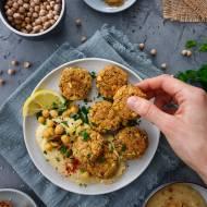 Falafel z piekarnika – wegański obiad