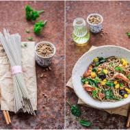 Stir-fry z kurczakiem i kukurydzą / Stir-fry with chicken and corn
