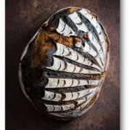 Dyniowy chleb na zakwasie z dodatkiem sepii z mątwy