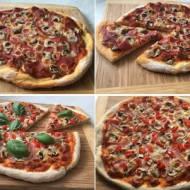 Pizza domowa - ciasto i dodatki