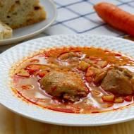 Węgierska zupa z kurczakiem