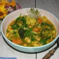 Curry z batatów i ciecierzycy