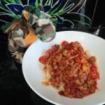 Kuskus z mięsem mielonym i pomidorkami