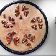 Figowe ciasto czekoladowe bez mąki