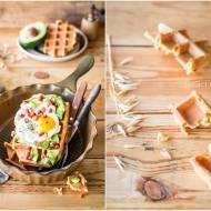 Gofry owsiane wytrawne / Dry oat waffles