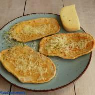 Podpłomyki dyniowe z serem truflowym