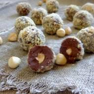Trufle czekoladowe z orzechami laskowymi
