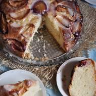 Ciasto ze śliwkami i lukrem