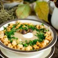 Zupa krem z podgrzybków