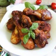 Pieczone podudzia z kurczaka