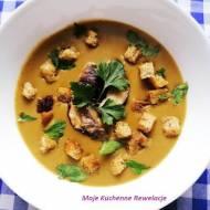 Zupa krem ze świeżych borowików