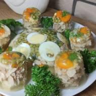 Drobiowa galareta z warzywami