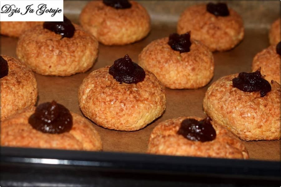 Ciastka z kleiku ryżowego z kokosem