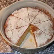 Magiczne ciasto - trzywarstwowe ciasto
