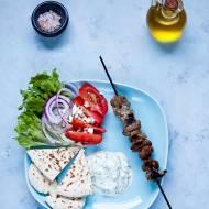 Souvlaki - greckie szaszłyki