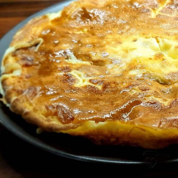 Bezglutenowy omlet z kukurydzą