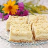 Kruszonkowe ciasto z serem
