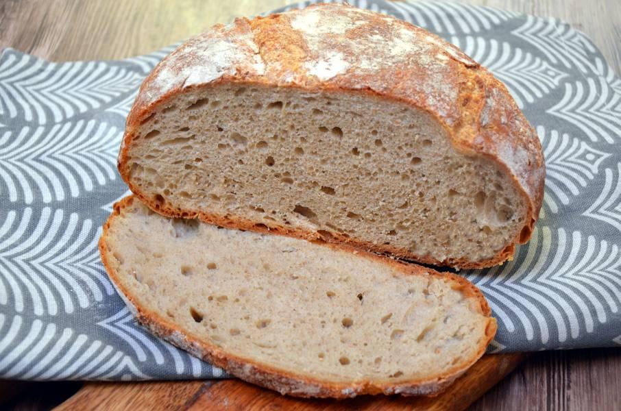 Chleb pszenno-orkiszowy z gara