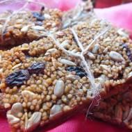 Bakaliowo-kawowe batoniki z kaszy kuskus
