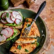 Chrupiący omlet z dwóch składników
