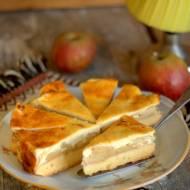 Sernik z jabłkami – szarlotka z serem