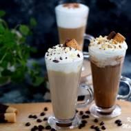 Smakowa kawa latte - z cynamonem, nutellą, białą czekoladą