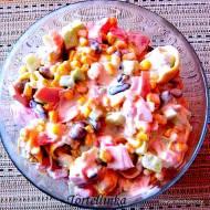 Sycąca sałatka z tortellini