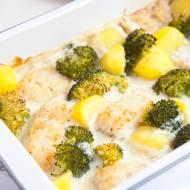 Zapiekanka skandynawska z rybą i brokułem. Świetna na obiad w większym gronie. PRZEPIS