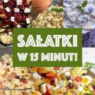 10 pysznych sałatek, które zrobisz w 15 minut!