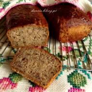 Chleb z inuliną, kawą zbożową i siemieniem lnianym