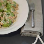 Nie marnuje jedzenia! Wyczarowuję z resztek – eleganckie zielone kluski śląskie