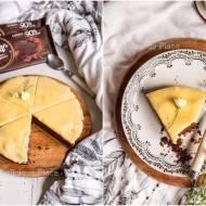 Brownie z gruszkowym kajmakiem / Brownie with pear butterscotch